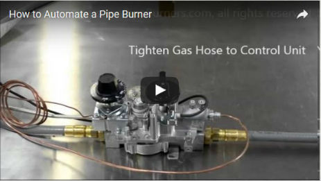 How to Automate a Pipe Burner