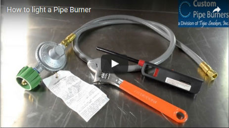 How to Light a Pipe Burner