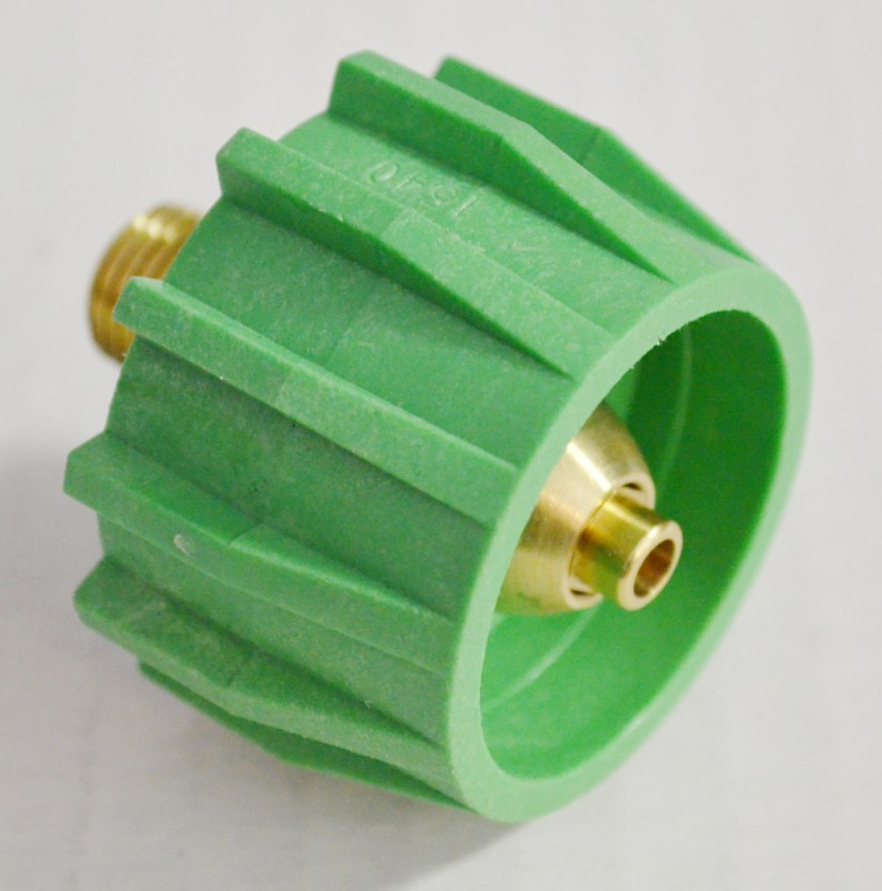 204024 Green Acme Type 1 Wrenchless Tank Fitting, 200,000 btu/hr Maximum Output