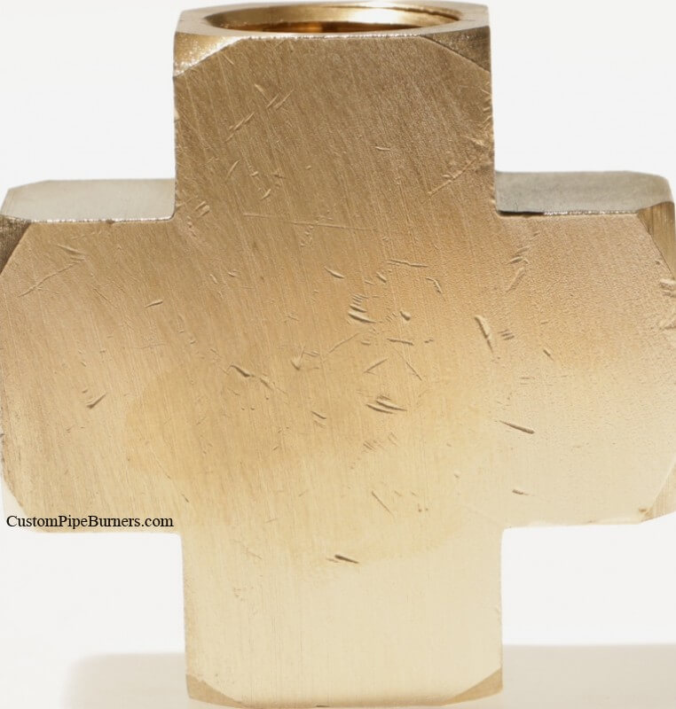 Extruded Brass Cross, FFFF