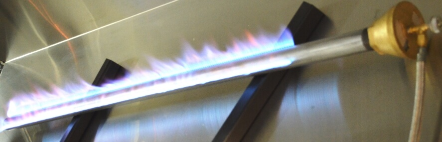 Straight Pipe Burner with CVO250