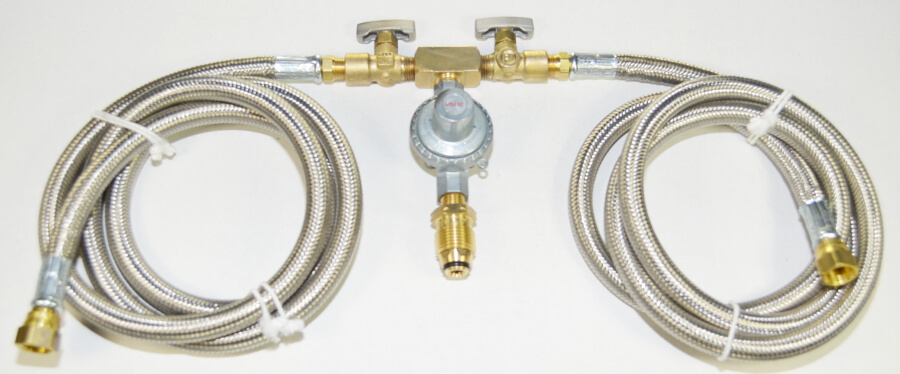 COM4-D with Optional Stainless Steel Hoses