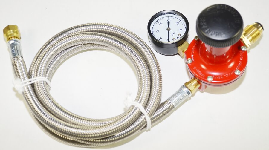 COMRI-20 with Optional Stainless Steel hose