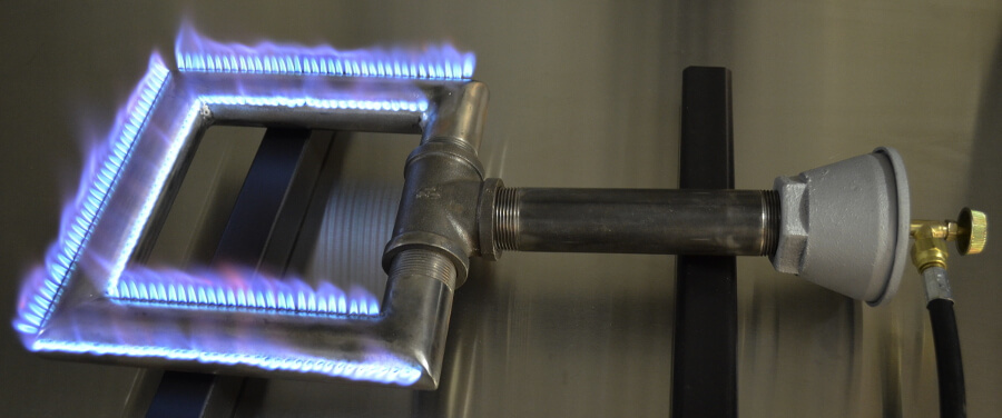 Square Pipe Burner with  CVO250